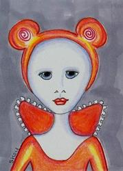 Art: Regal Mouse - 29 Faces by Artist Sherry Key
