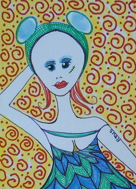 Art: MY OLD MOUSEKETEER EARS by Artist Sherry Key
