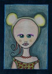 Art: Vintage Mouse by Artist Sherry Key