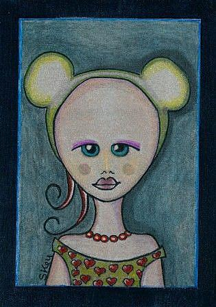 Art: Vintage Mouse by Artist Sherry Key