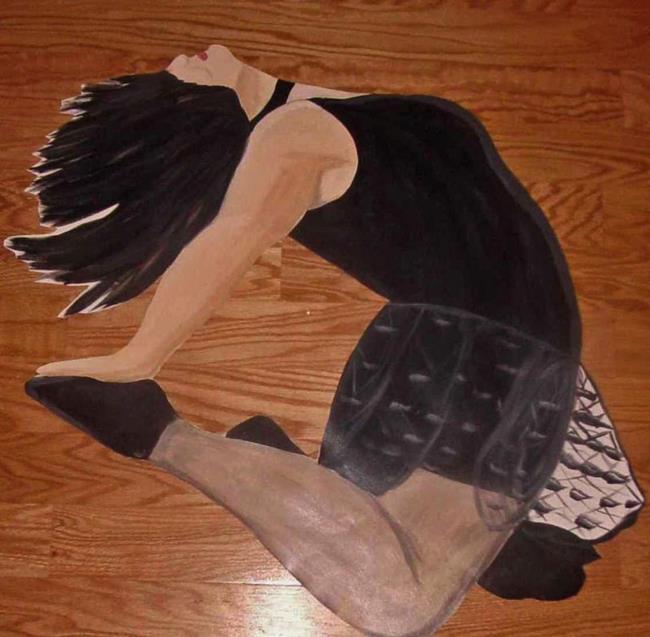 Art: Modern Dancer by Artist Karen Lynn Evans