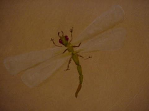 Art: Dragonfly by Artist Debra Schott