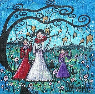 Art: The Trio II by Artist Juli Cady Ryan