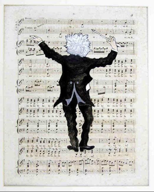 Art: Conductor by Artist Paul Helm