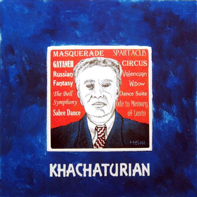 Art: Khachaturian by Artist Paul Helm