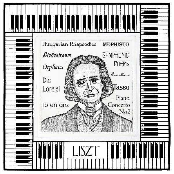 Art: Liszt by Artist Paul Helm