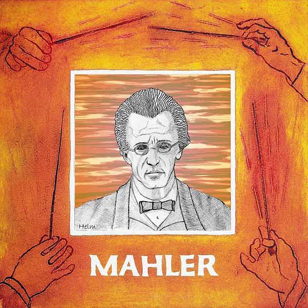 Art: Mahler by Artist Paul Helm