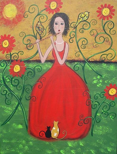 Art: The Musical Gathering by Artist Juli Cady Ryan