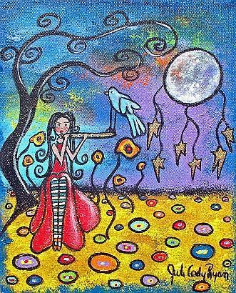 Art: She Brings The Night by Artist Juli Cady Ryan
