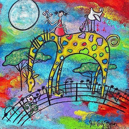 Art: She Dreams of Gavotte by Artist Juli Cady Ryan