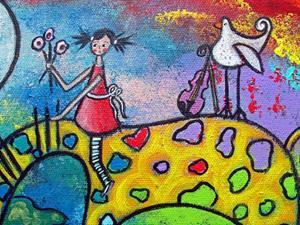 Detail Image for art She Dreams of Gavotte