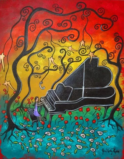 Art: Musical Enchantment II by Artist Juli Cady Ryan