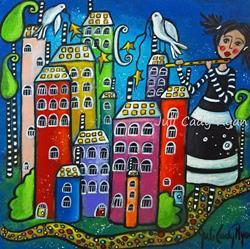 Art: The Sound of Peace by Artist Juli Cady Ryan