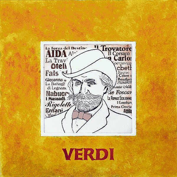 Art: Verdi by Artist Paul Helm