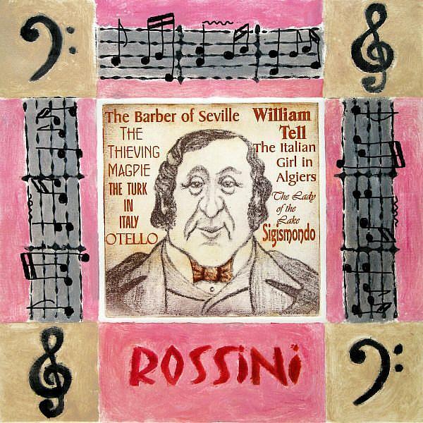 Art: Rossini by Artist Paul Helm