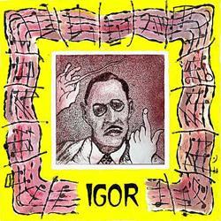 Art: Igor Stravinsky by Artist Paul Helm