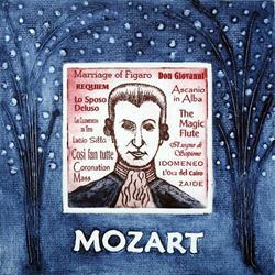 Art: Mozart by Artist Paul Helm