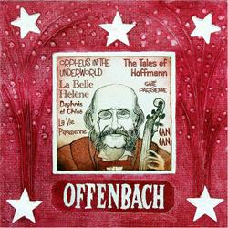 Art: Jacques Offenbach by Artist Paul Helm