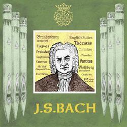 Art: JS Bach by Artist Paul Helm
