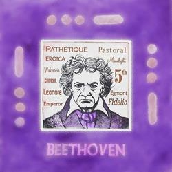 Art: Ludwig van BEETHOVEN by Artist Paul Helm