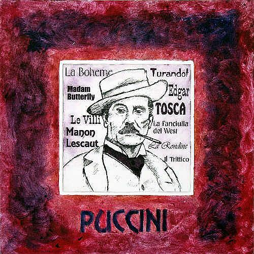 Art: Puccini by Artist Paul Helm