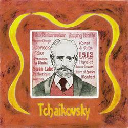 Art: Tchaikovsky by Artist Paul Helm
