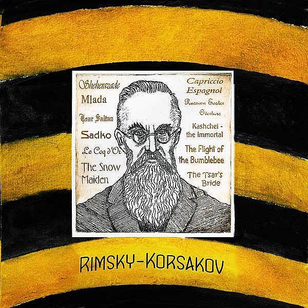 Art: Rimsky-Korsakov by Artist Paul Helm