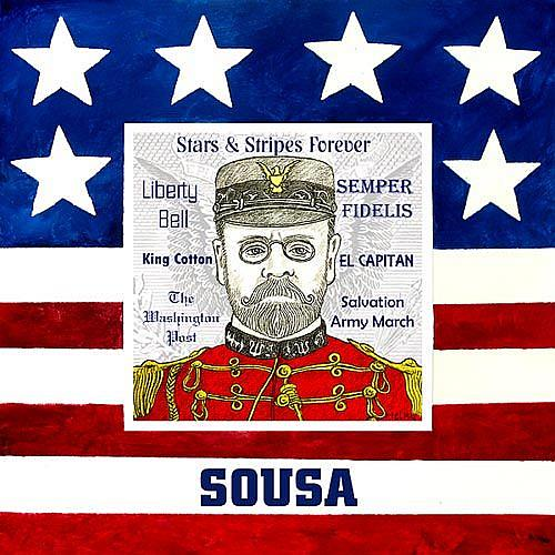 Art: Sousa by Artist Paul Helm