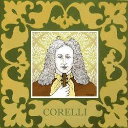 Art: Corelli by Artist Paul Helm