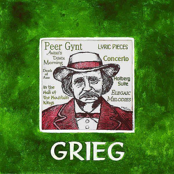 Art: Grieg by Artist Paul Helm