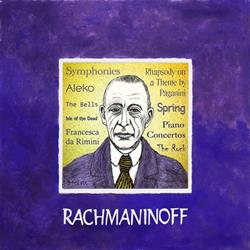 Art: Rachmaninoff by Artist Paul Helm