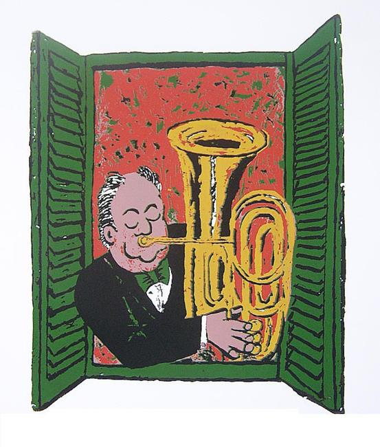 Art: Oompah, oompah! by Artist Paul Helm