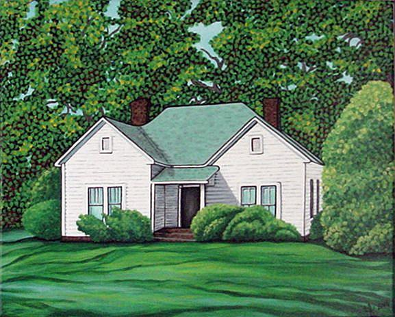 Art: Granny's House by Artist Tina Marie Ferguson