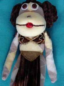 Detail Image for art Princess Leia Slave Monkey