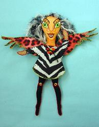 Art: Wild Angel by Artist Tina Marie Ferguson