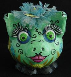 Art: Woodland Fairy Pig by Artist Tina Marie Ferguson