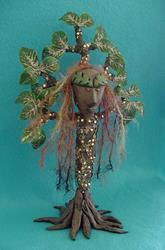 Art: Tree Goddess by Artist Tina Marie Ferguson
