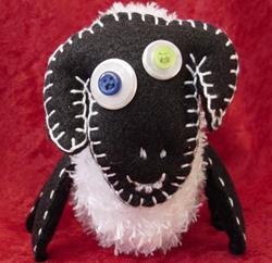 Art: Sheep by Artist Tina Marie Ferguson
