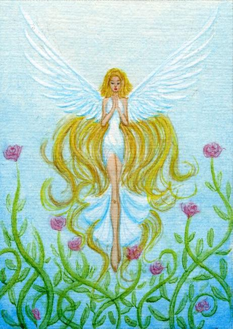 Rose Garden Angel by Hiroko Reaney from My Best Angels