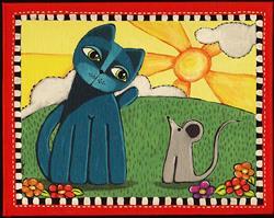 Art: A Great Day by Artist Cindy Bontempo (GOSHRIN)