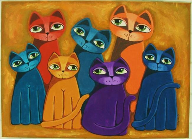 Art: Togetherness by Artist Cindy Bontempo (GOSHRIN)