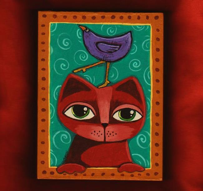 Art: Off The Top Of My Head by Artist Cindy Bontempo (GOSHRIN)