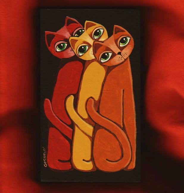 Art: Make It Three by Artist Cindy Bontempo (GOSHRIN)