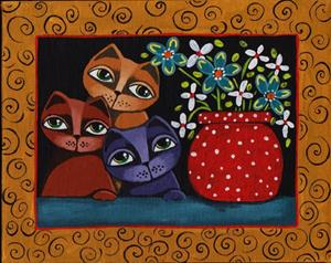 Detail Image for art Cat Color