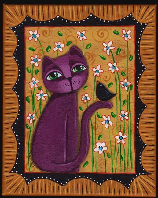 Art: NATURES LOVE by Artist Cindy Bontempo (GOSHRIN)