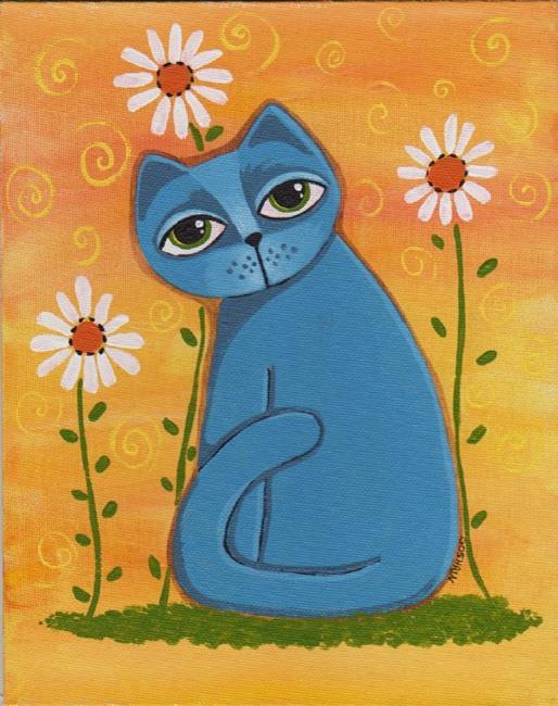 Art: Blue Bliss by Artist Cindy Bontempo (GOSHRIN)
