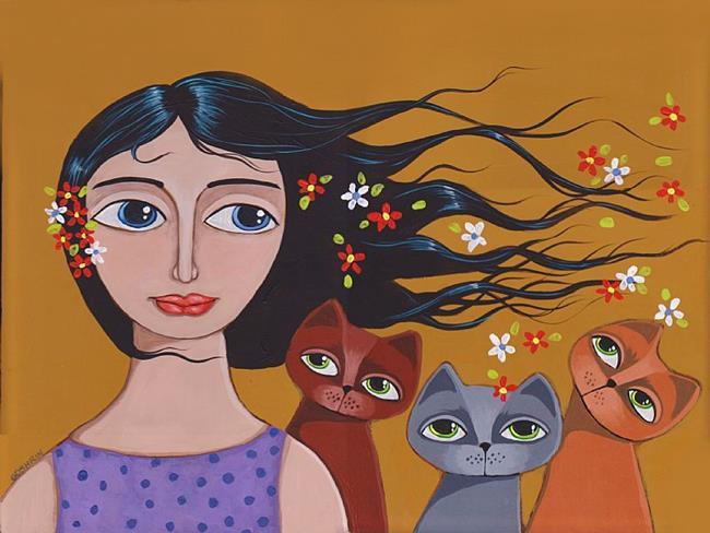 Art: Cool Breeze by Artist Cindy Bontempo (GOSHRIN)