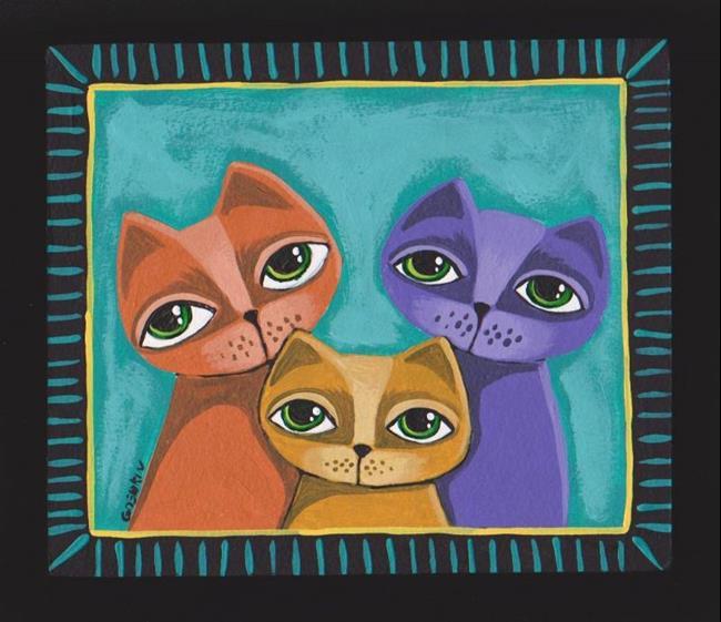 Art: My Cats by Artist Cindy Bontempo (GOSHRIN)