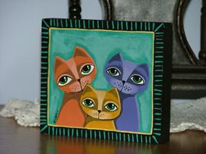 Detail Image for art My Cats