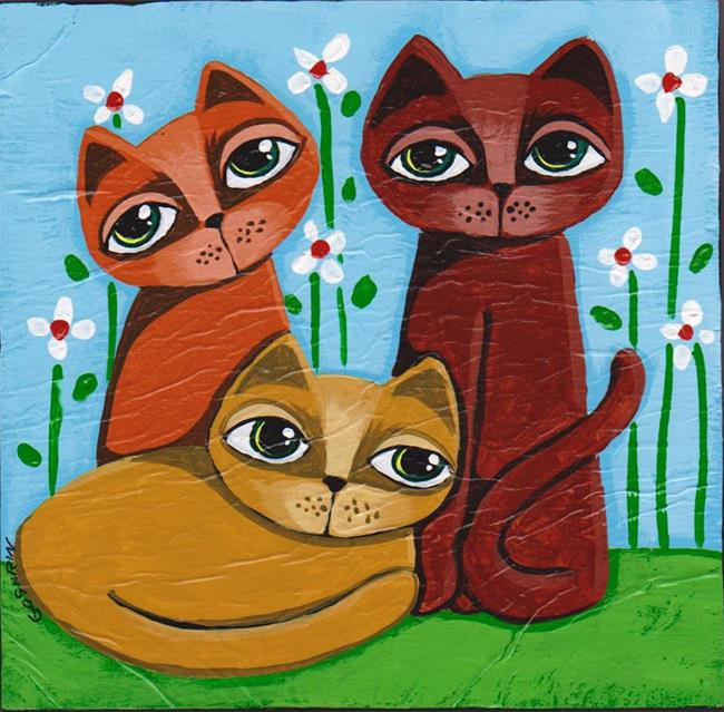 Art: Good Times by Artist Cindy Bontempo (GOSHRIN)